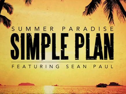 "En écoute : ""Summer Paradise"" de Simple Plan feat. Sean Paul"