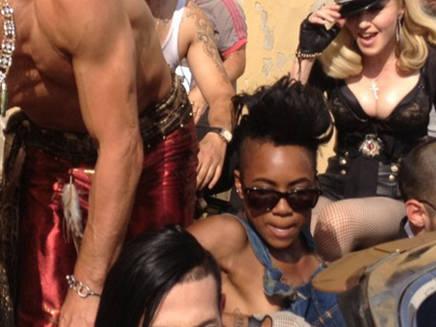 Madonna : La première image de son nouveau clip!