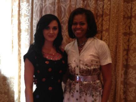 Katy Perry déjeune avec Michelle Obama