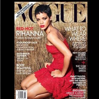 Rihanna fière d'être en couverture de Vogue