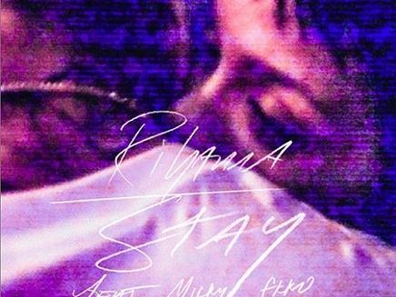 Rihanna : avec Chris Brown sur la pochette de « Stay » !