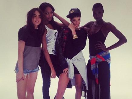 Rihanna : ses débuts de styliste à Londres