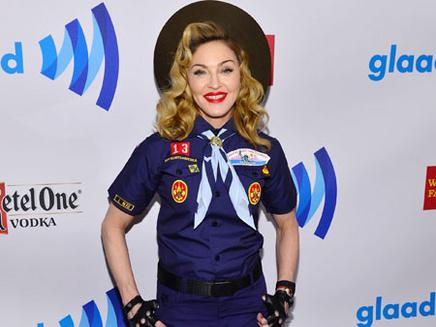 Madonna exposée !