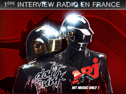 Daft Punk en interview sur NRJ !
