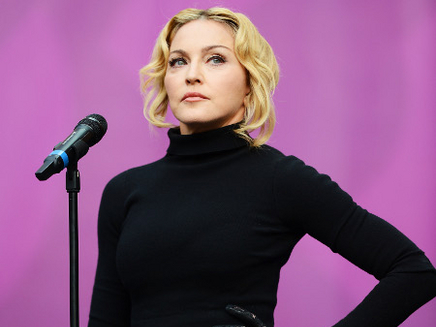 Madonna : sous le soleil cannois en famille