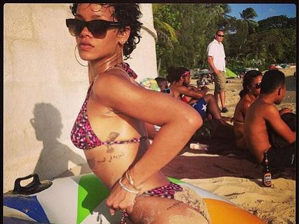 Rihanna : vacances détente à la Barbade