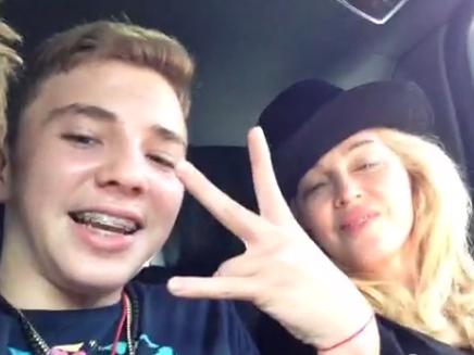 Madonna comme vous ne l'avez jamais vue