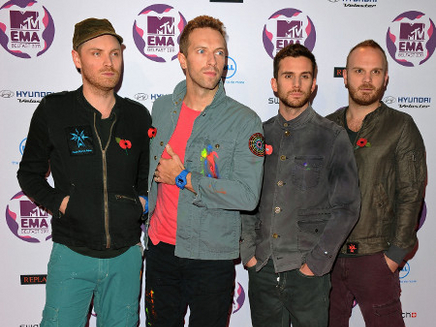 Coldplay récompensé pour la bande-originale d' « Hunger Games »