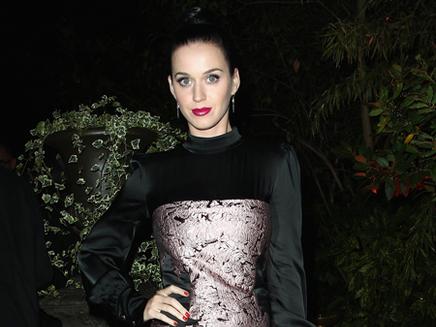 Katy Perry : en famille au concert de John Mayer