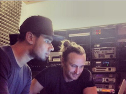 David Guetta : en studio avec Afrojack !