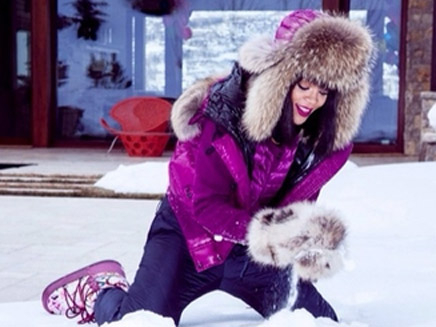 Rihanna : son anniversaire au ski !