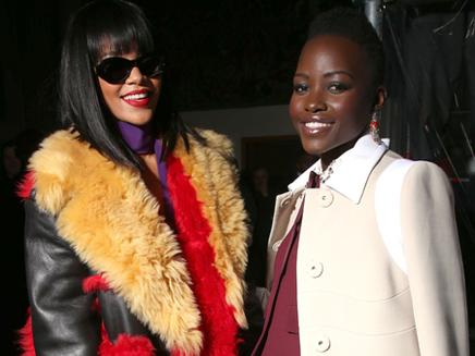Rihanna : super copine avec Lupita Nyong'o !