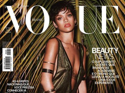 Rihanna : les photos exotiques pour Vogue Brésil