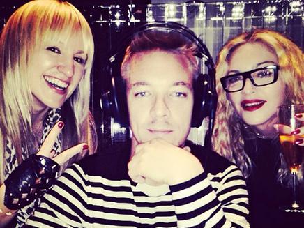 Madonna : en studio avec Diplo!