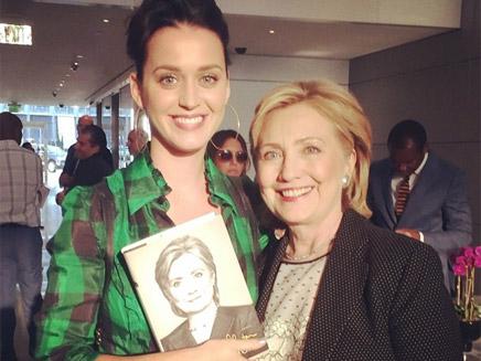 Katy Perry s'engage en politique !