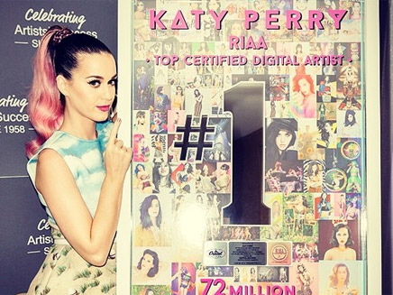 Katy Perry : à nouveau récompensée !