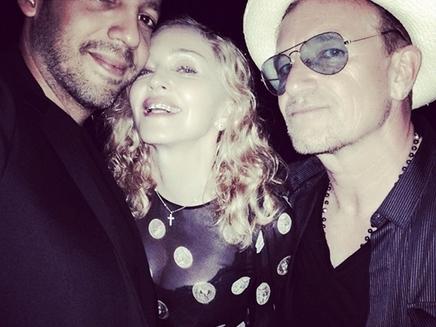 Madonna s'éclate en France !