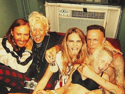 David Guetta : soirée de folie à New York avec Cara Delevingne!