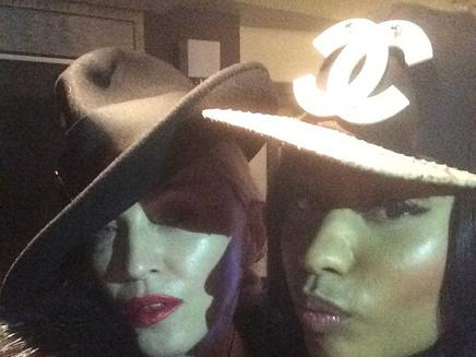 Madonna : bientôt un duo avec Nicki Minaj?