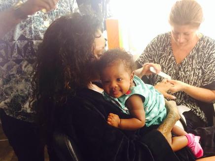 Rihanna : toujours aussi dingue de sa nièce !