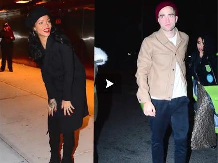 Rihanna avec Robert Pattinson en boîte