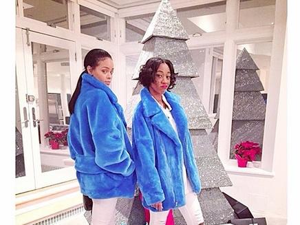 Rihanna : un sapin en diamants !