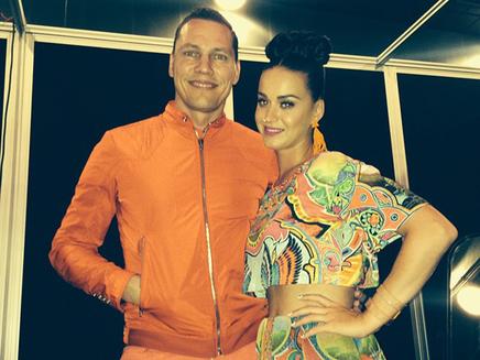 Katy Perry : rencontre avec Tiesto en Australie!