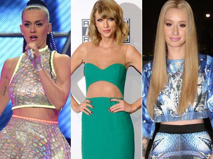Katy Perry, Taylor Swift, Iggy Azalea: tous les hits de l'année en un seul !