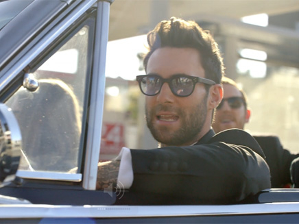 Maroon 5 : les premières images du clip de « Sugar »!
