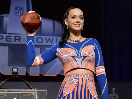 Katy Perry annonce une nouvelle invitée pour le Superbowl!