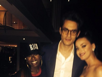 Katy Perry: John Mayer à ses côtés pour le Superbowl!