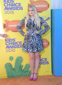 Meghan Trainor @ Kids Choice Awards 2015