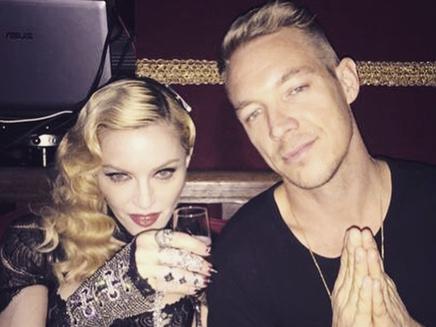 Madonna à Paris : après l'émotion, elle retrouve Diplo!
