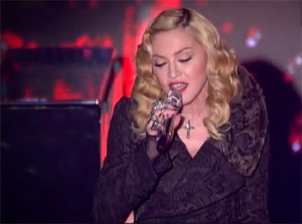 Madonna interprète en live «Devil Pray», réalisé avec Avicii!