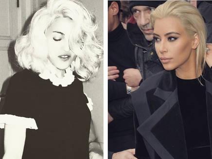 Madonna : elle a inspiré la nouvelle coupe de Kim Kardashian!