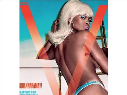 Rihanna : envoûtante pour V Magazine!