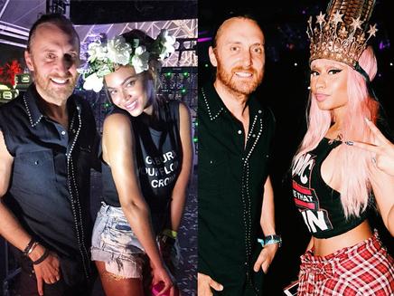 David Guetta : avec Nicki Minaj et Beyoncé à Coachella!
