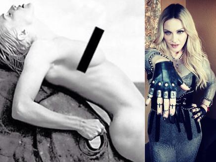 Madonna pose nue contre la censure!