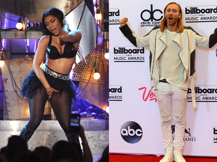 David Guetta et Nicki Minaj : standing ovation aux Billboard Music Awards!
