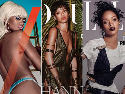 Rihanna : la reine des magazines!