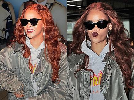 Rihanna : nouveau look tomboy à Londres!