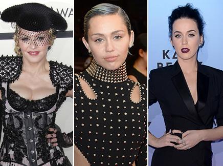 Madonna : Miley Cyrus et Katy Perry dans son prochain clip ?
