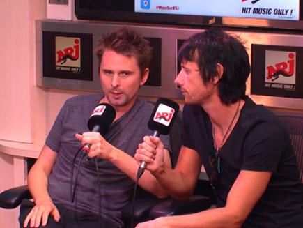 Muse : leur interview sur NRJ!