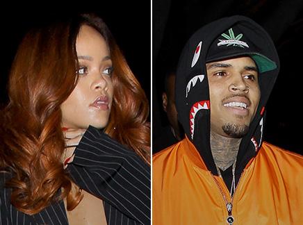 Rihanna : avec Chris Brown et Karim Benzema en soirée!