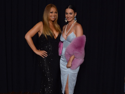 Katy Perry : rencontre avec son idole Mariah Carey!