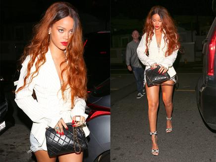Rihanna : en bikini ou veste de tailleur, elle est sublime!
