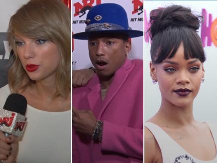 Rihanna, Pharrell, Taylor Swift : les plus grandes stars en interview sur NRJ!