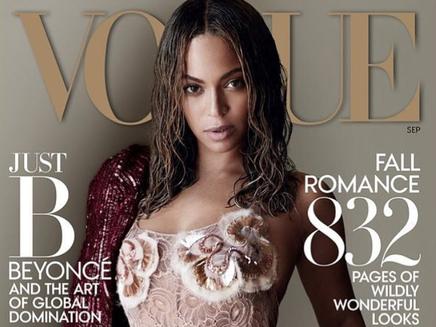 Beyoncé : magnifique en couverture de Vogue!