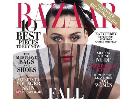 Katy Perry en couverture du Harper's Bazaar!