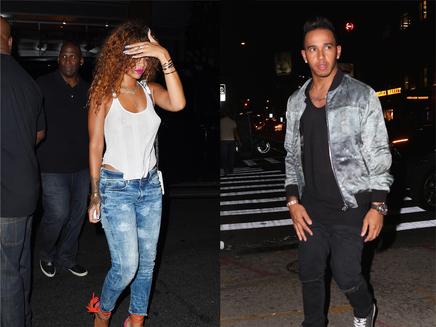 Rihanna : Lewis Hamilton sort le grand jeu!